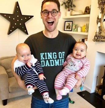 Multi dad with twins